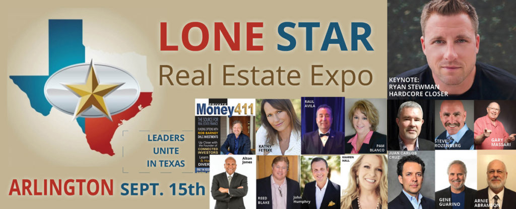 Lone Star Real estate Expo Sept 15 2018