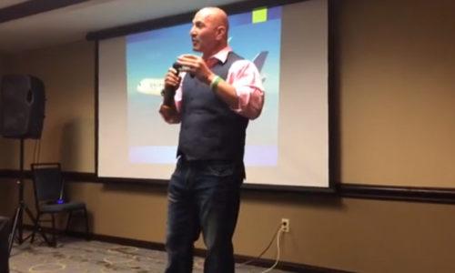 Steve Speaking