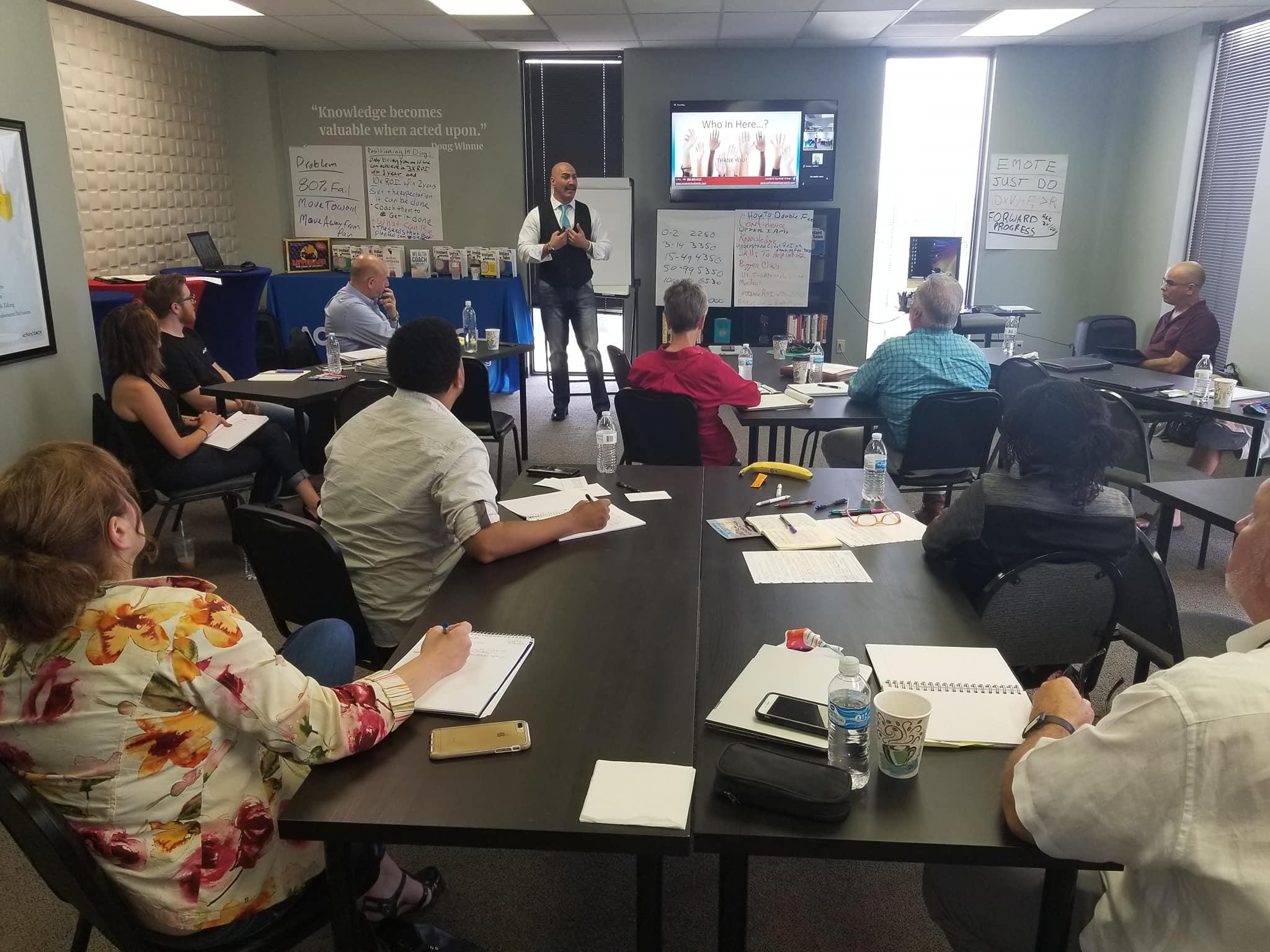 ActionCoach Houston 9-24-2018