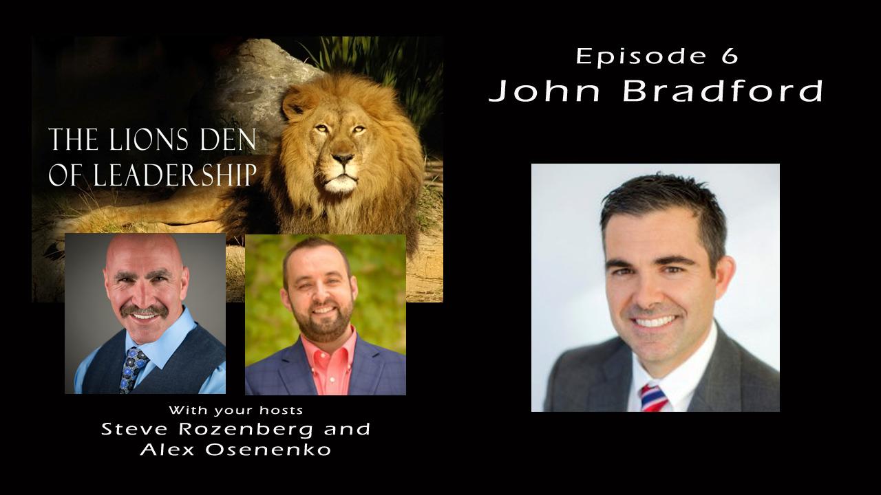 Lion's Leadership Den EP 6 – John Bradford of Petscreening