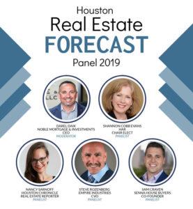 Noble Mortgage Houston 2019 forecast panel