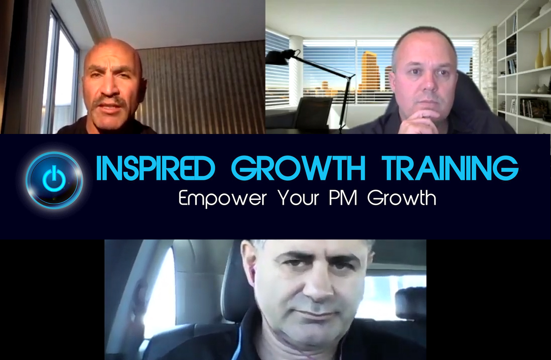 Steve Rozenberg on Inspired Growth Training podcast