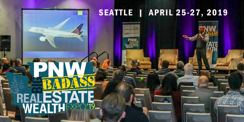 Steve will be speaking at PNW Big Badass Real Estate Expo 2019 in Seattle WA