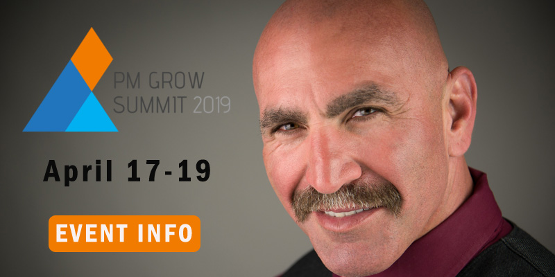 Steve Rozenberg speaking at PM Grow 2019