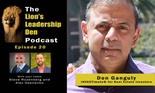 Lion's Leadership Den Podcast Episode 20 - Don Ganguly from Investimate