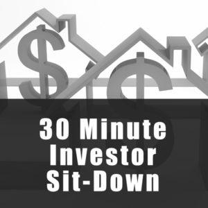 30 min investor sit down