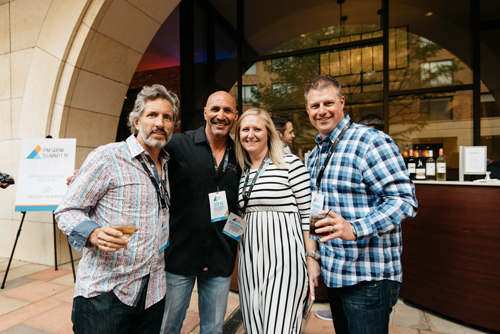 Steve with friends at PM Grow Summit 2019