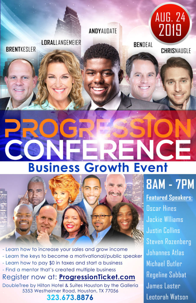 Progression Conference Business Growth August 24 2019