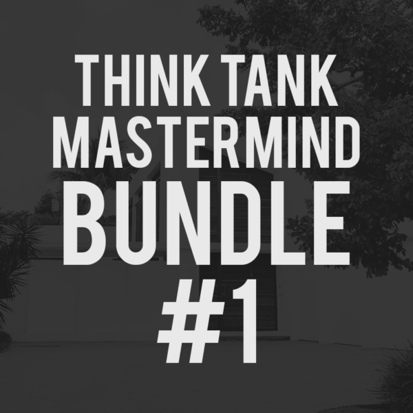 Think Tank Mastermind Bundle #1