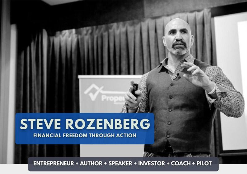 Steve Rozenberg one sheet thumbnail