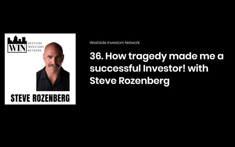 Mindset, Success and Business - Steve on Westside Investors Network Podcast